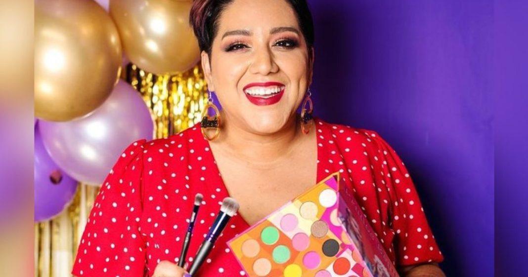 Cece Meadows, dona da sua empresa de maquiagem
