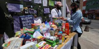 estudantes recolhem doações alimentos professora agredida marido