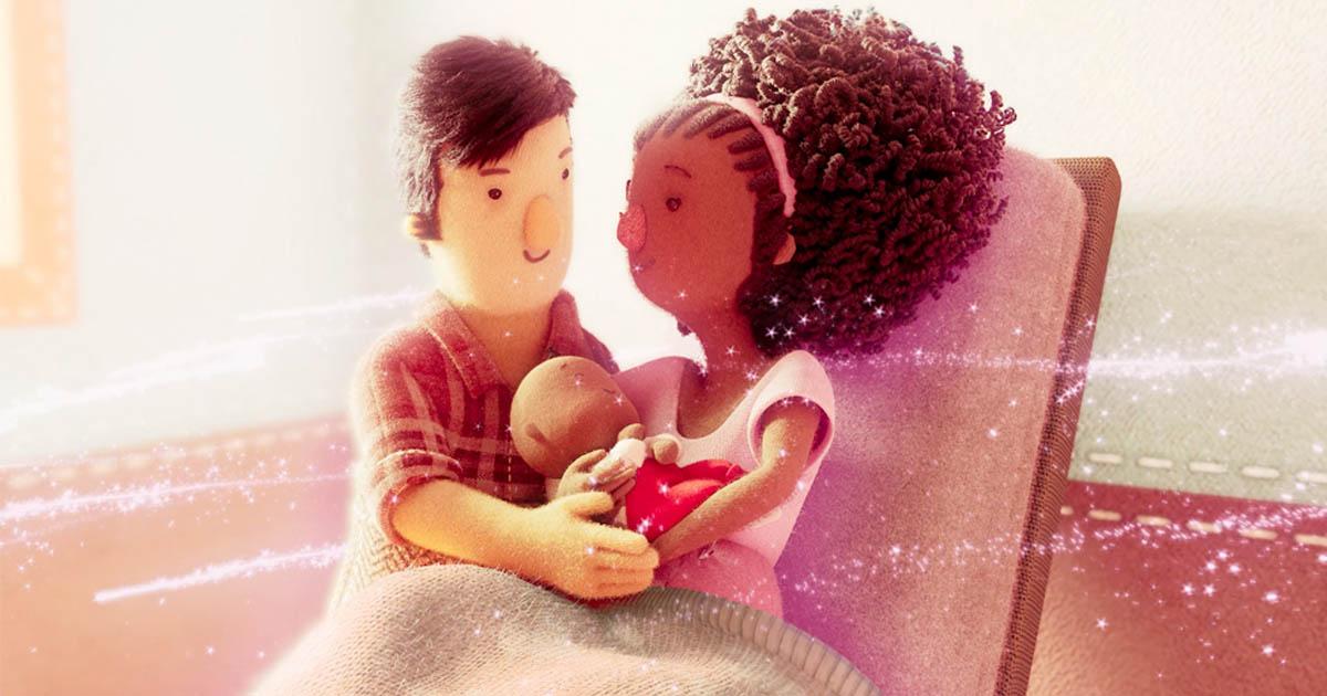 animação dia do abraço huggies