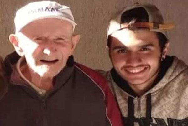 Avô e neto Atlético-MG