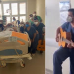 [VÍDEO] Equipe médica prepara linda surpresa de casamento para paciente com Covid-19