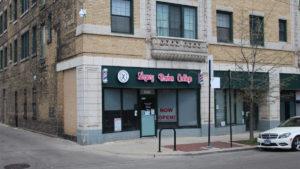 Barbearia em Chicago