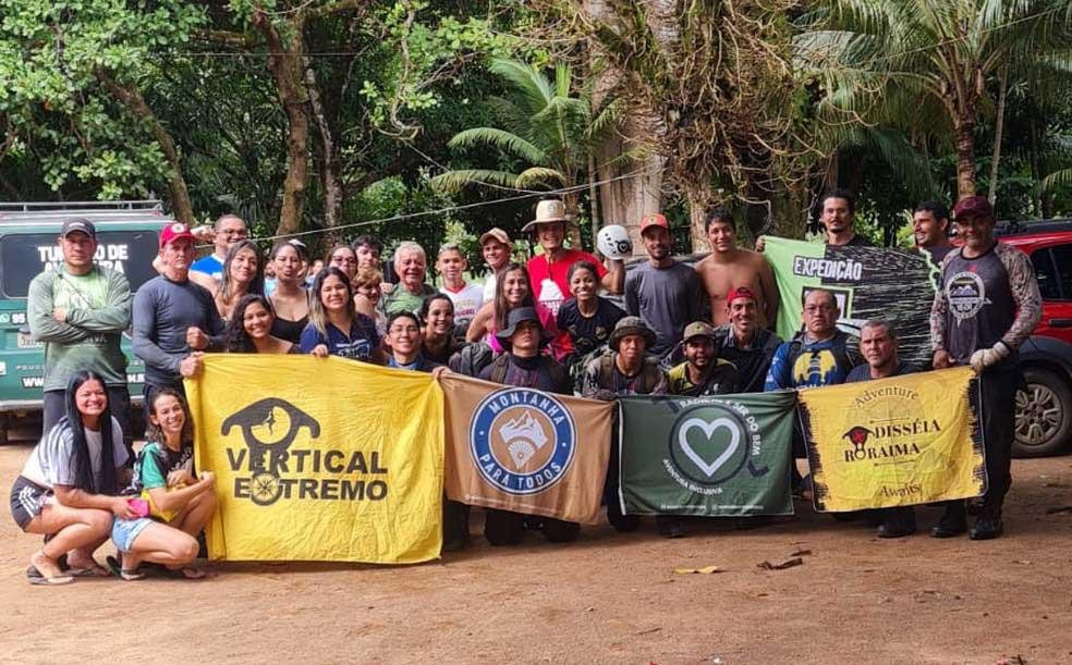 grupo aventureiros subida serra roraima