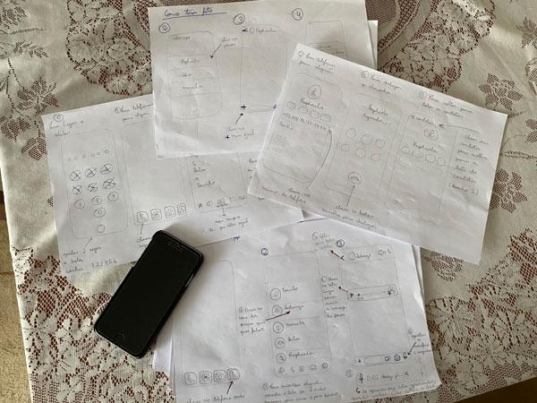 Desenhos para usar celular