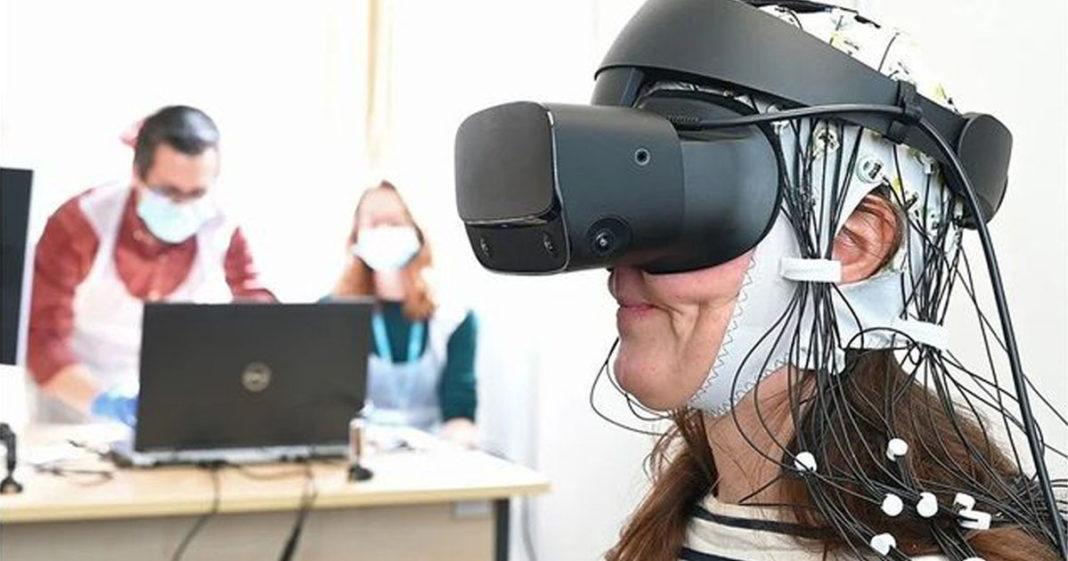 paciente testa realidade virtual tratamento dores crônicas