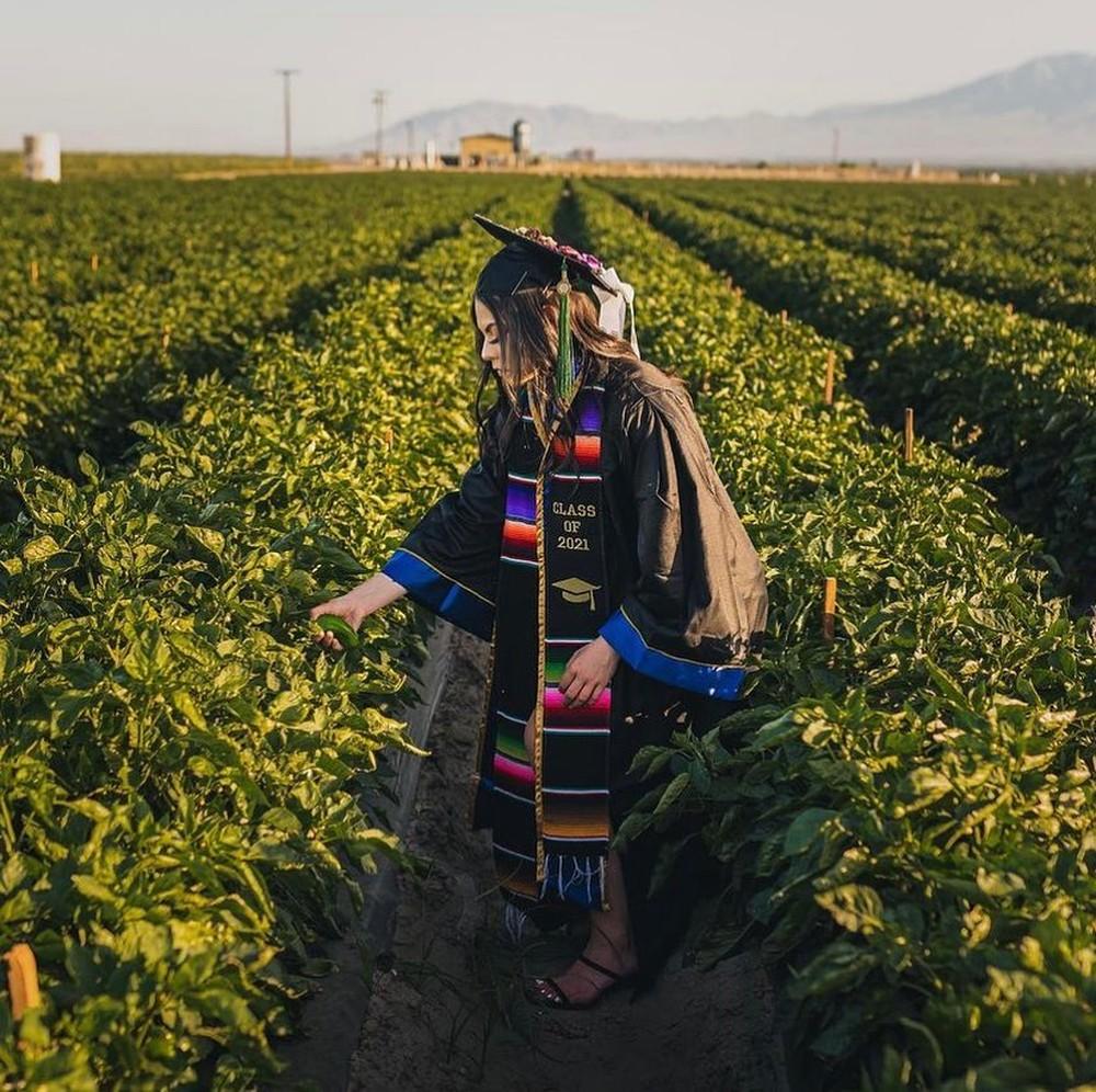 filha trabalhadores rurais ensaio de formatura