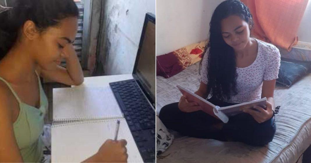 Adolescente da periferia que ganhou bolsa para estudar fora do país ganha vaquinha