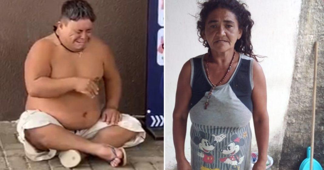 Despejados, mãe depressiva e filho com down ganham vaquinha para conseguirem novo lar