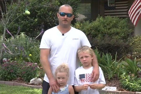 após nadar 1h, menino de 7 anos salva pai e irmã