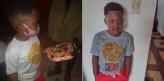 entrega de pizza para moradores de rua