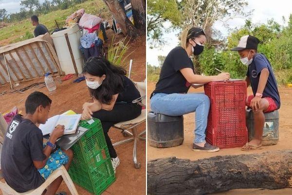 Meta batida para comprar Kombi e criar colégio itinerante após escola ser destruída pelo Governo
