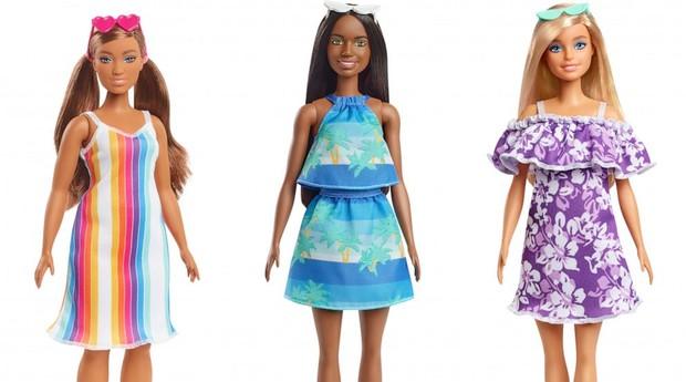 barbie produzida plástico reciclado dos oceanos