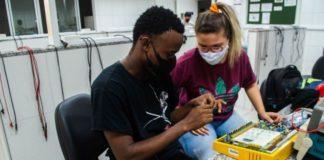 estudantes cearenses câmara descontamina máscaras