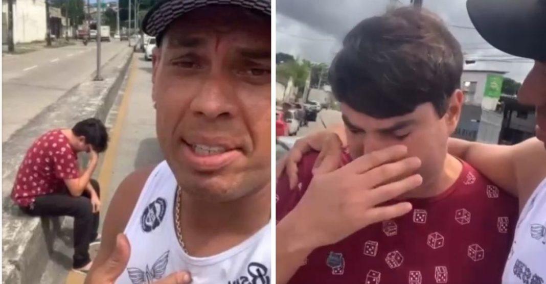 homem perdoa motorista que bateu seu carro