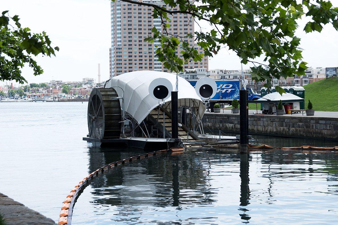 inventor cria máquina devoradora de lixo