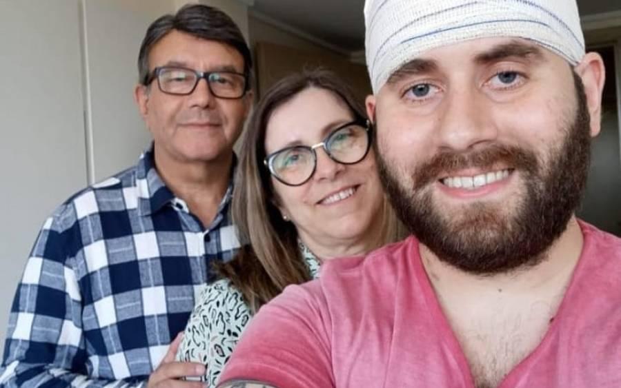 paciente com câncer vaquinha tratamento tumor cerebral crianças