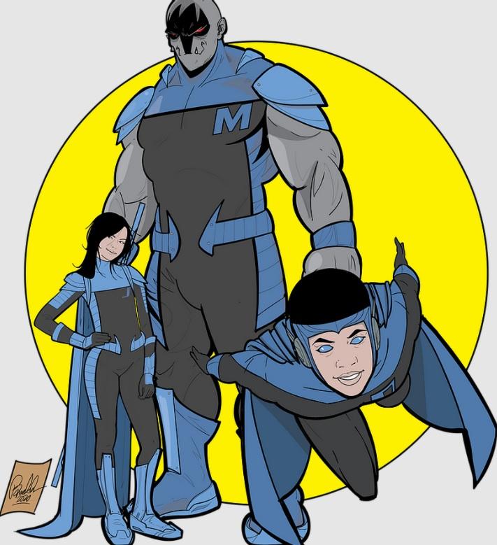 pai ilustrador cria super-herói inspirado filho autista