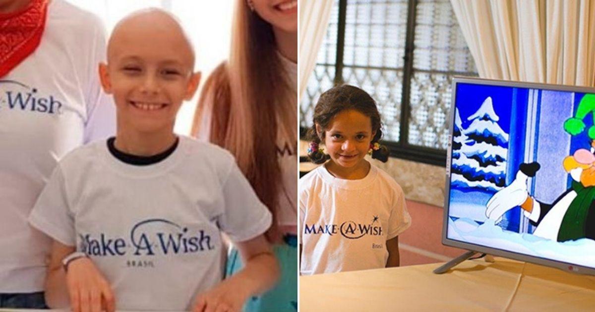 ONG realiza sonhos de crianças com doenças graves e em estado terminal