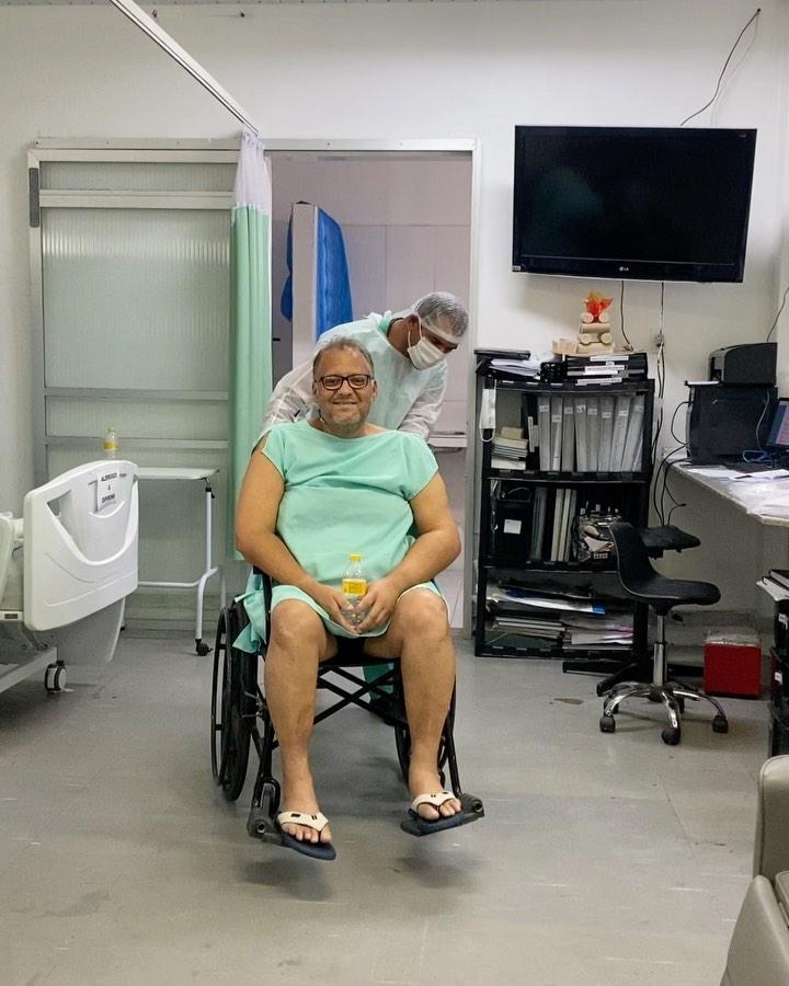 paciente internado cria obras de arte hospital