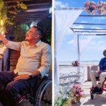 Depois de ouvir que estava 'acabado', decorador prova que cadeira de rodas não limita em nada seu trabalho