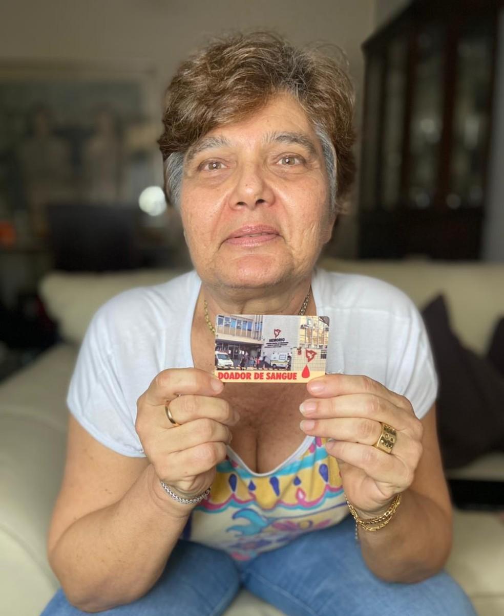 maior doadora de sangue do rio de janeiro