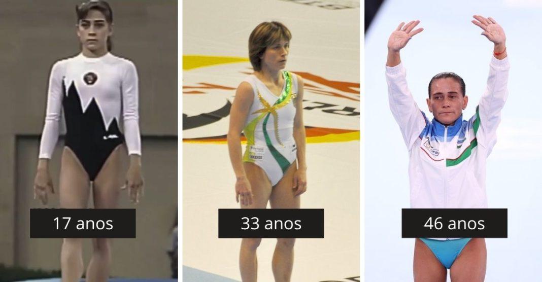 ginasta oksana Chusovitina jogos olímpicos tóquio