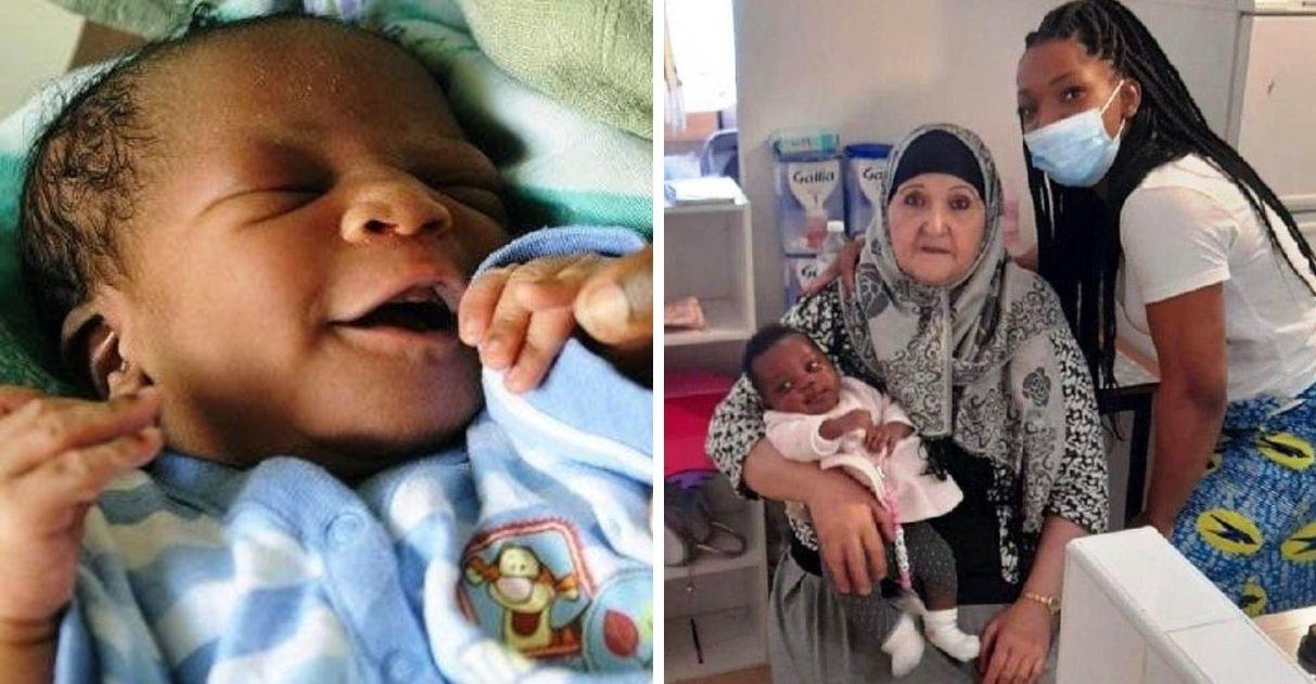 idosa salva vida de bebê recém-nascido engasgou leite mamadeira