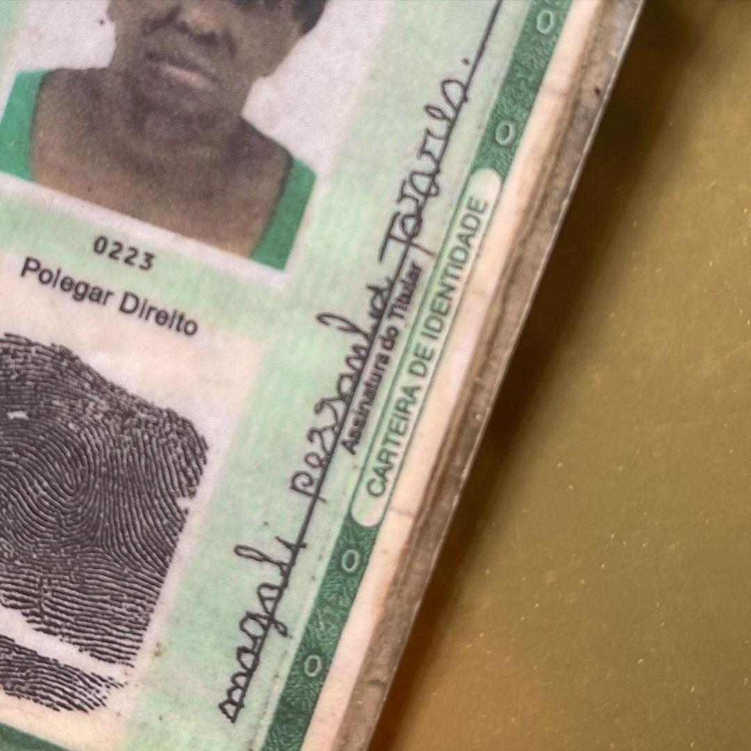 idosa alfabetizada sonho assinar nome carteira