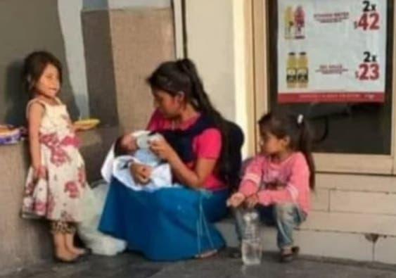 jovem carente mãe de cinco adota bebê abandonado
