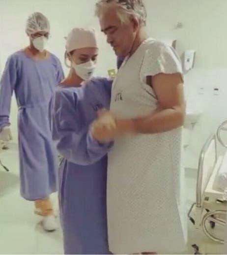 paciente vence covid dança forró médica para comemorar