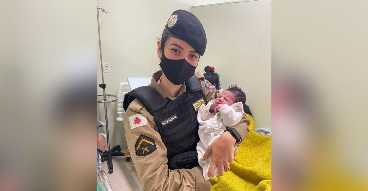 policiais fazem parto casa de mulher