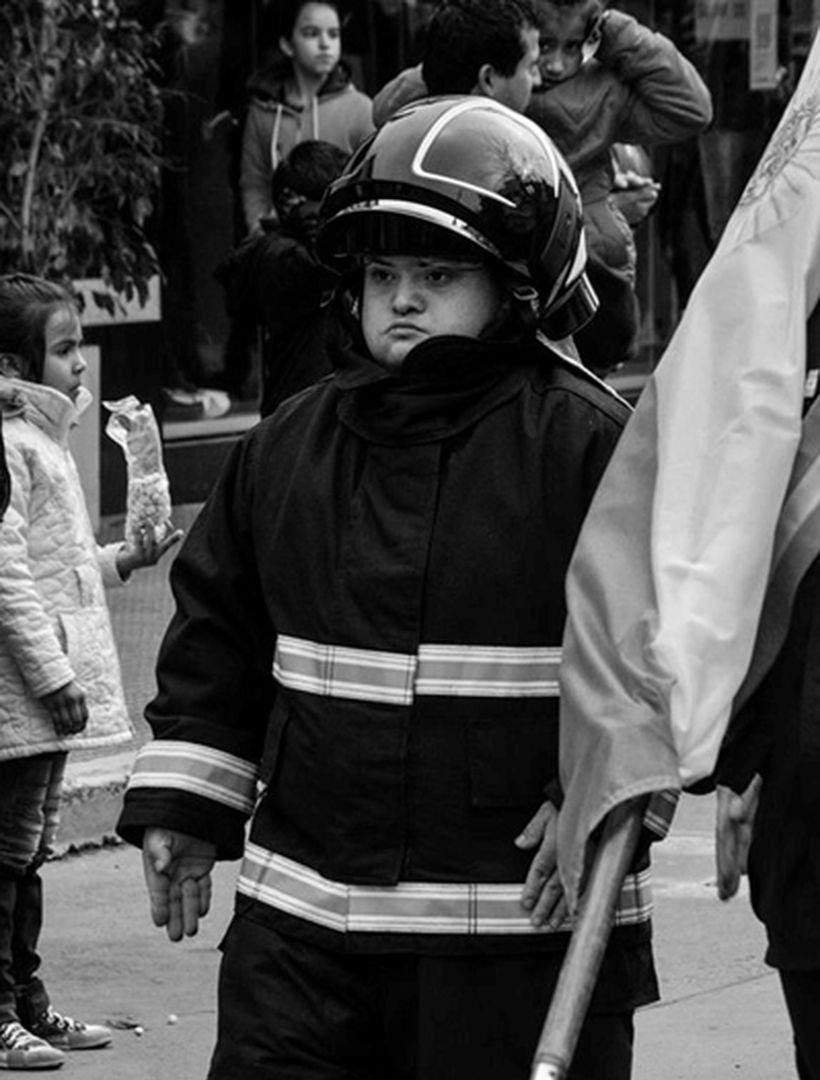 argentina primeiro bombeiro síndrome de down