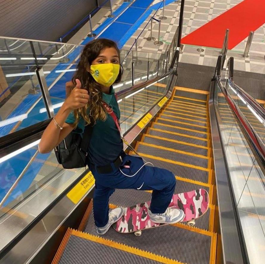 rayssa leal skatista mais jovem atleta brasil jogos olímpicos tóquio