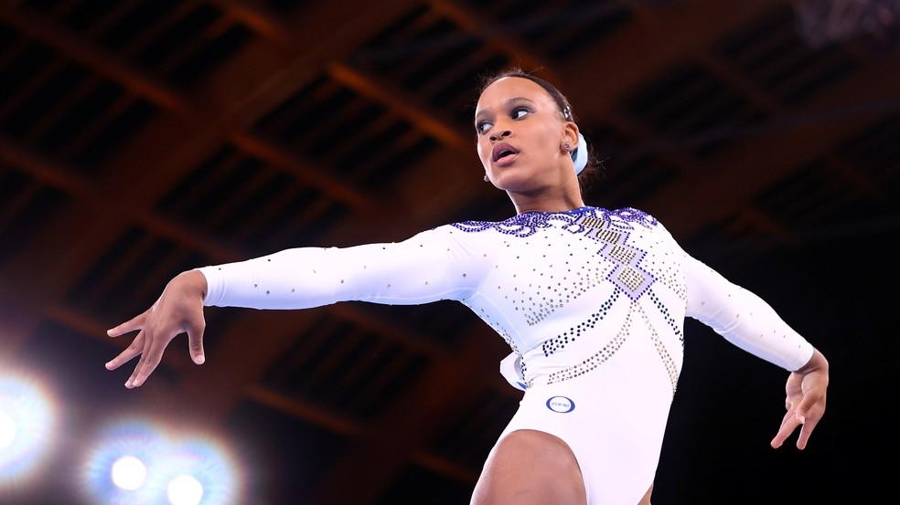 rebeca andrade baile de favela medalha de prata olimpíadas de tóquio