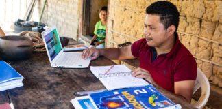 indígena estuda vestibular medicina