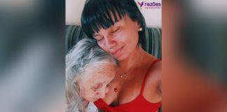 neta cuida da avó com alzheimer