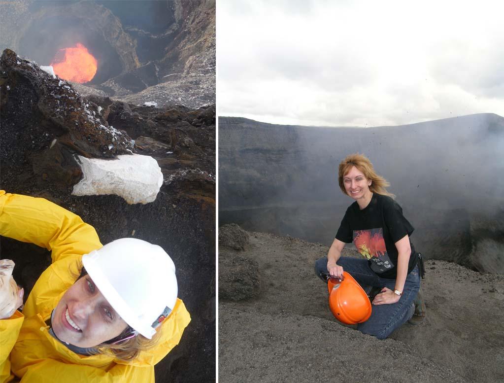 astrônoma brasileira rosaly lopes trabalho campo vulcão