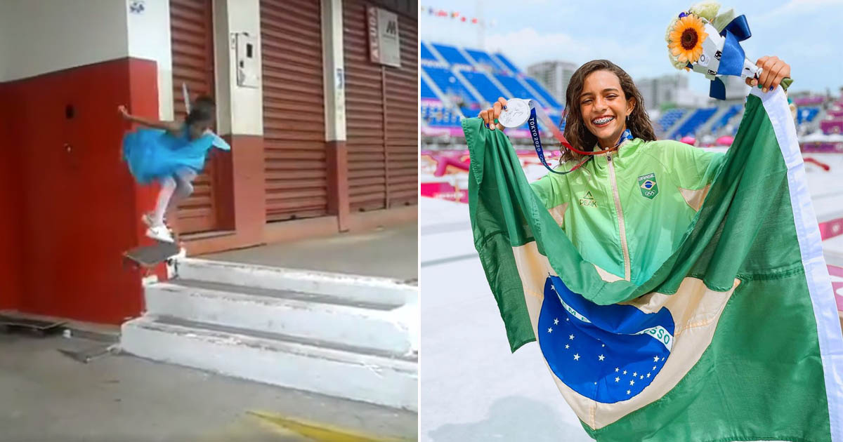 rayssa leal fadinha leva medalha prata skate olimpíadas toquio