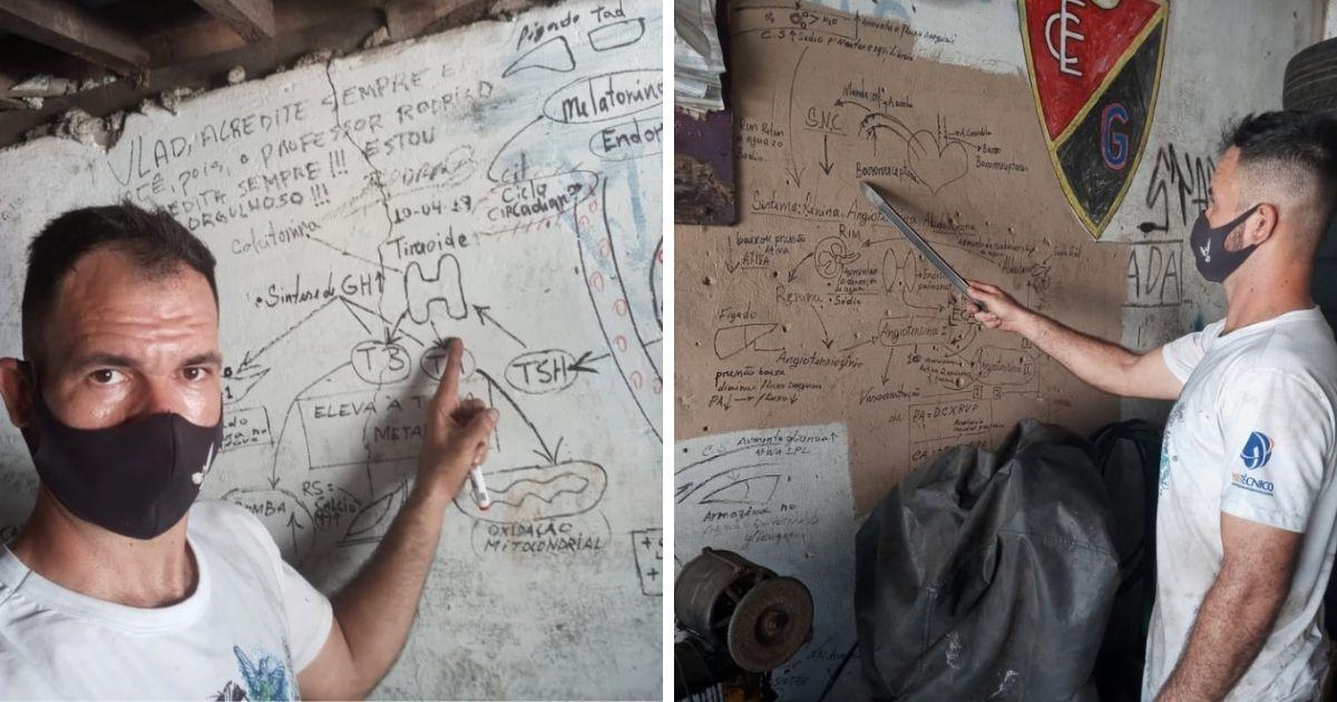 vaquinha voaa borracheiro estuda parede oficina Piauí