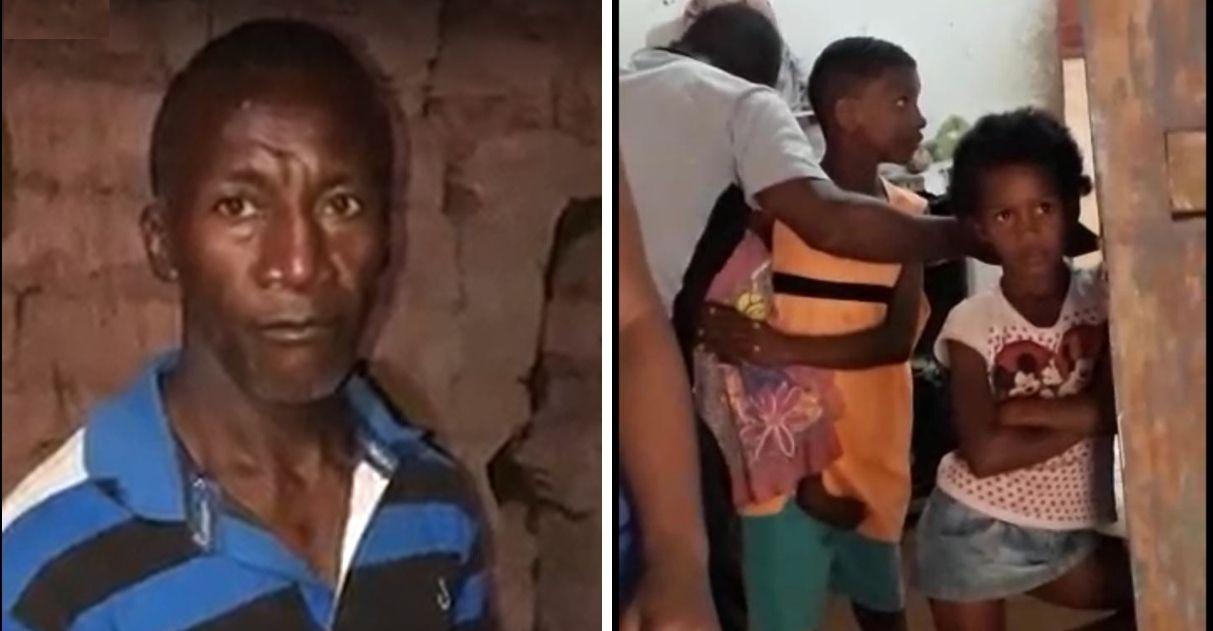 vaquinha voaa viúvo com oito filhos que moram em casa precária sem banheiro