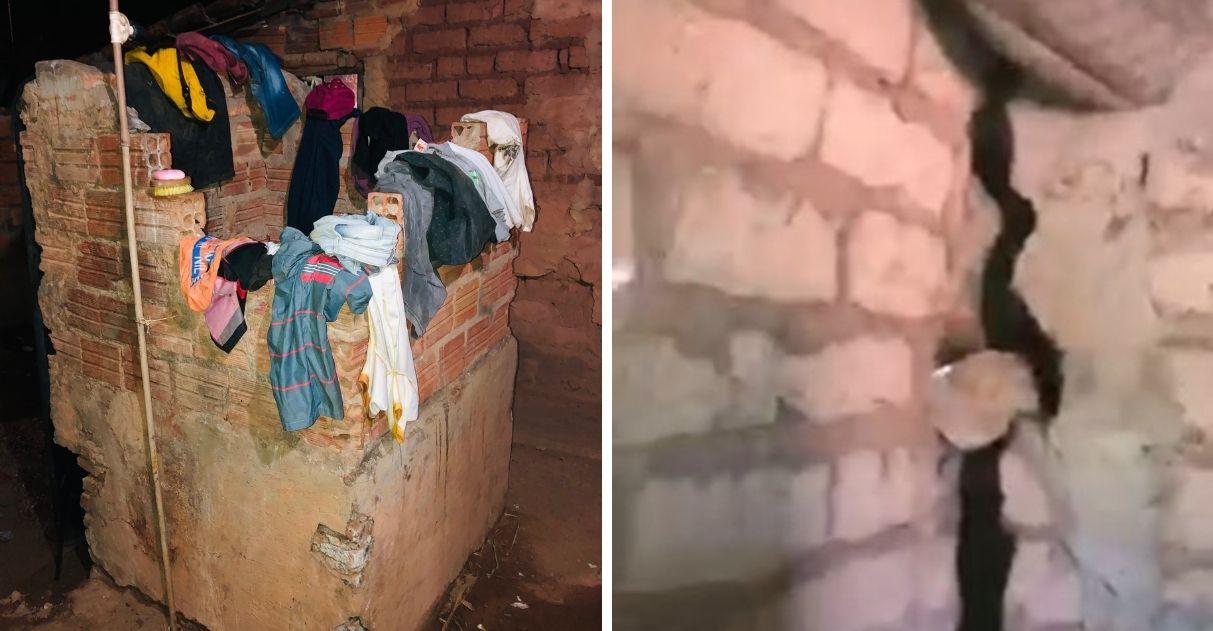 vaquinha voaa viúvo com oito crianças que moram em casa precária sem banheiro
