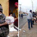 Famílias fazem fila para pegar ossos doados em açougue de Cuiabá. Saiba como ajudar com a nossa vaquinha!