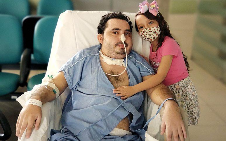 dia dos pais hospital autoriza visita filha