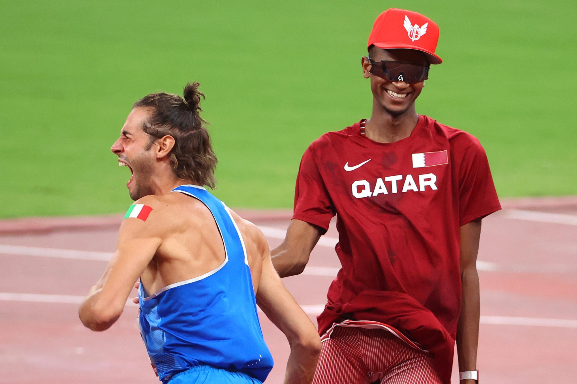 italiano catariano dividem dividir medalha ouro salto altura
