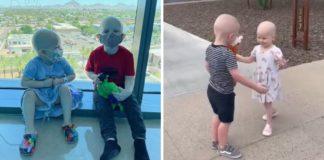 crianças lutam juntas contra câncer fazem amizade