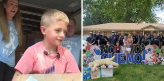 menino venceu câncer agradece hospital doação brinquedos pacientes