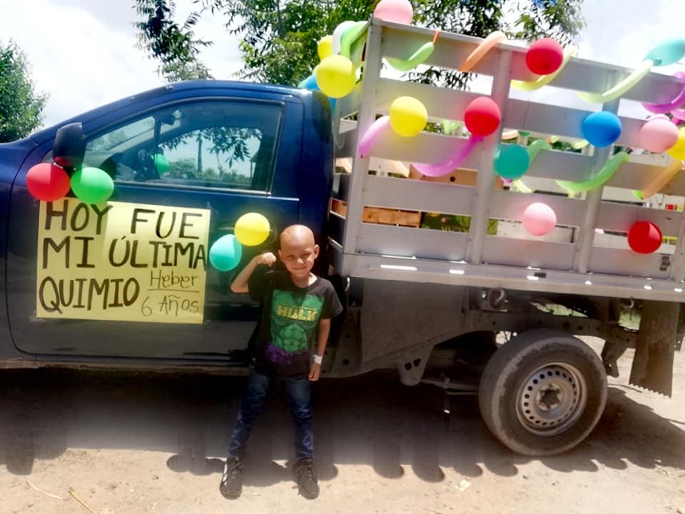 menino vence câncer cérebro México