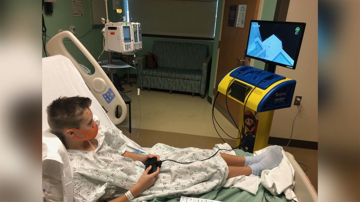 nintendo doa estação jogos crianças internadas hospital