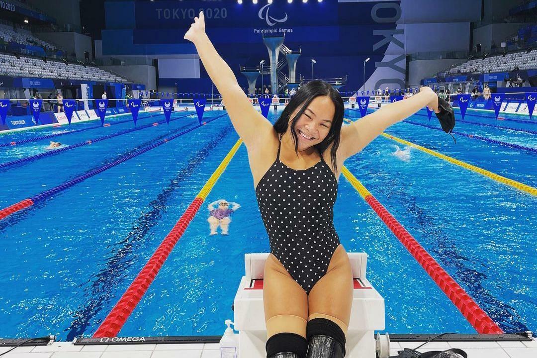nadadora paraolímpica perdeu as pernas bebê atentado bomba