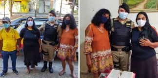 soldado polícia ajuda idosa reencontrar irmã separada